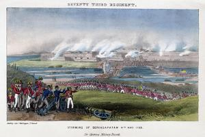 Seventy-Third Regiment, Storming of Seringapatam, India, 4th May 1799 by Madeley