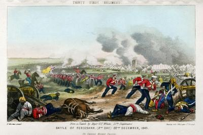 Thirty First Regiment, Battle of Ferozeshah, 2nd Day, 22nd December 1845 by Madeley