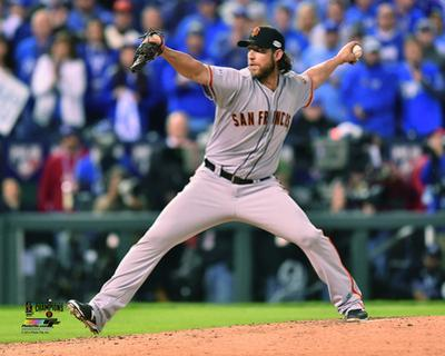 Madison Bumgarner Game 7 of the 2014 World Series Action