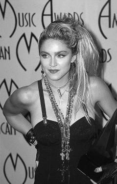 Madonna at the Music Awards