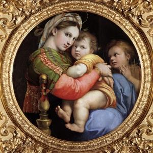 Madonna of the Chair by Raphael