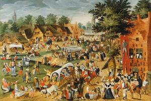 The Feast of Saint George by Maerten van Cleve