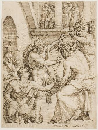 Christ Being Crowned with Thorns, c. 1548