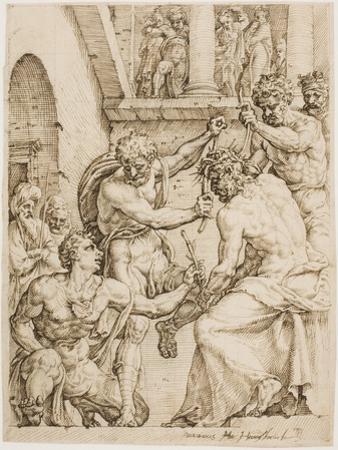 Christ Being Crowned with Thorns, c. 1548 by Maerten van Heemskerck