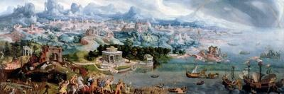 Panoramic Fantasy with the Abduction of Helen, 1535