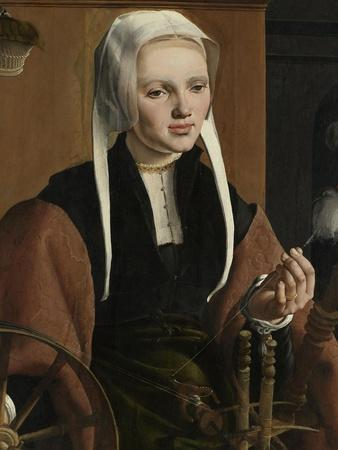Portrait of a woman, possibly Anna Codde, 1529