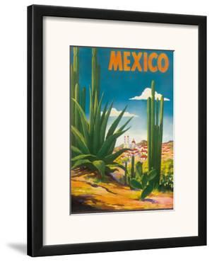 Mexico, Ciudad Juarez, Chihuahua, c.1950 by Magallon