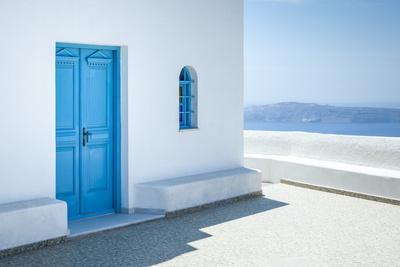 An Image of a Nice Santorini View