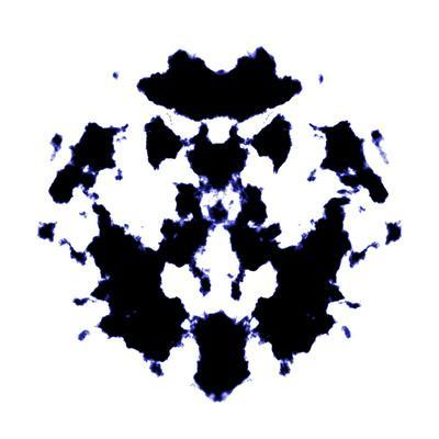 Black And White Rorschach Graphic