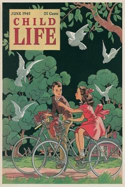 Magazine Cover, Child Life