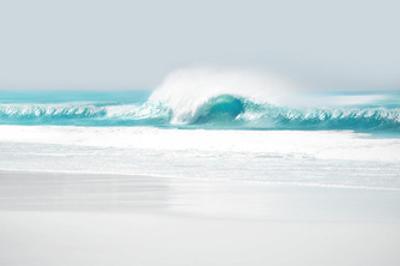 Aqua Wave II by Maggie Olsen