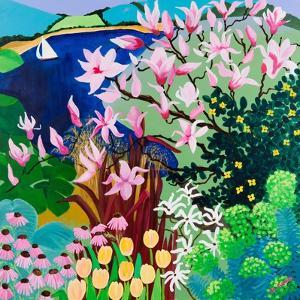 Magnolias in Salcombe, 2013 by Maggie Rowe