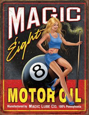 Magic Eight Motor Oil