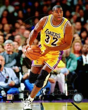 Magic Johnson 1995-96 Action