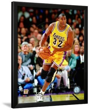 Magic Johnson 1995-96 Action