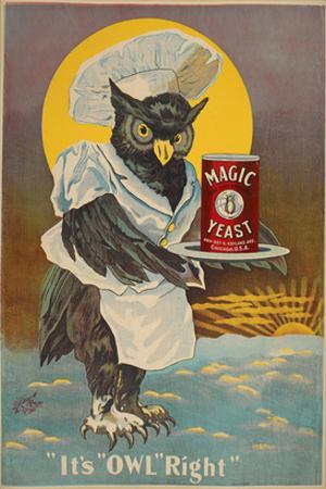 Magic Yeast - it's owl right