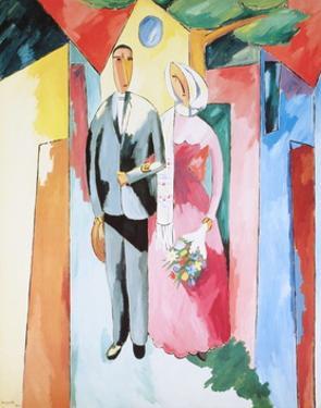 The Couple (La Coppia) by Magnelli