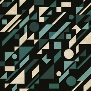 Abstract Pattern with Geometric Shapes by Magnia