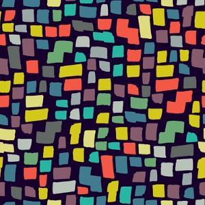 Seamless Abstract Color Pattern. Vector Illustration by Magnia