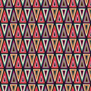 Triangles Pattern by Magnia