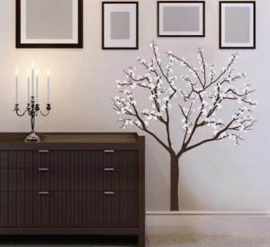 Magnolia Blossoms Wall Decal Sticker
