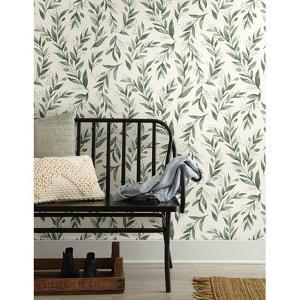 Magnolia Home Olive Branch Removable Wallpaper by Magnolia Home