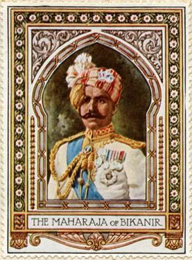 Maharaja of Bikaner, Stamp