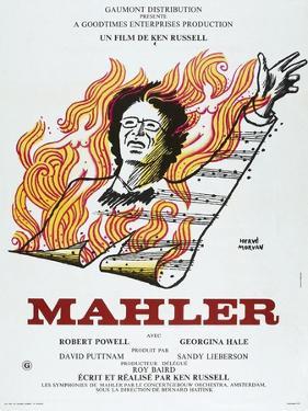 MAHLER, French poster, Robert Powell, 1974