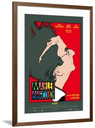 Mahler on the Couch - German Style--Framed Poster