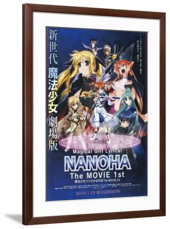 Mahou shoujo ririkaru Nanoha the movie 1st - Japanese Style--Framed Poster