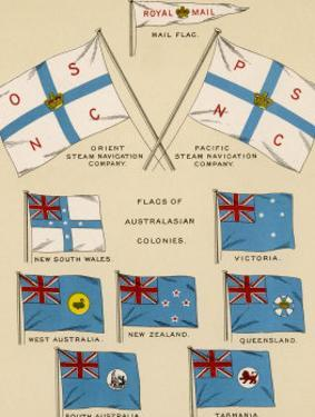 Mail Ship Flags and Others