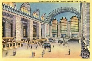 Main Concourse, Grand Central Station