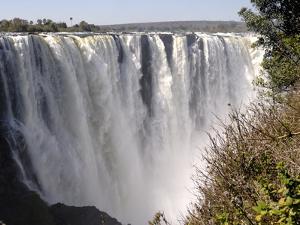 Main Falls, Victoria Falls, UNESCO World Heritage Site, Zimbabwe, Africa