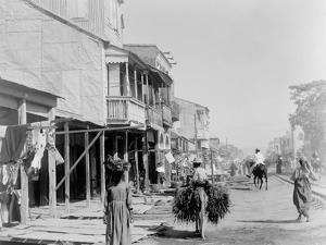 Main St., Port-Au-Prince, Hayti, W.I.