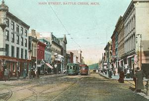 Main Street, Battle Creek, Michigan