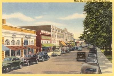 Main Street, Hyannis, Cape Cod
