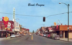 Main Street in Bend, Oregon