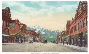 Main Street, Livingston, Montana