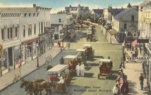 Main Street, Mackinac Island, Michigan