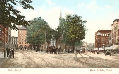Main Street, New Britain, Connecticut