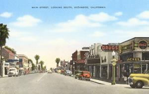 Main Street, Oceanside, California