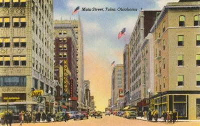 Main Street, Tulsa, Oklahoma