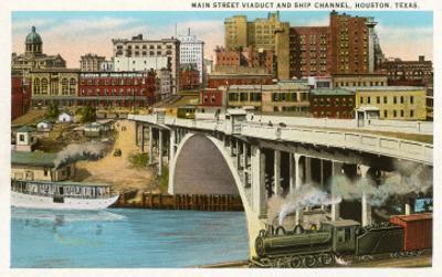 Main Street Viaduct, Houston, Texas