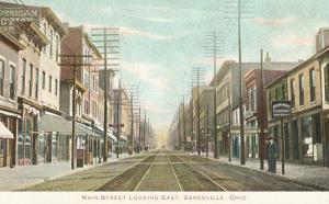 Main Street, Zanesville, Ohio