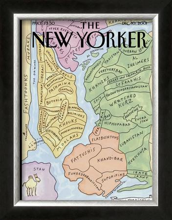"The New Yorker Cover, ""New Yorkistan"" - December 10, 2001"