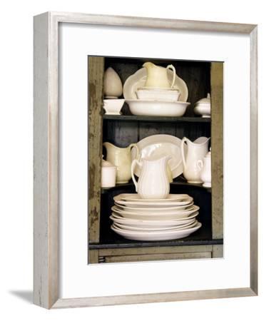 Maison Americaine--Framed Art Print