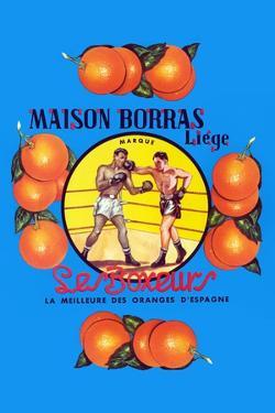 Maison Borras Liege Oranges