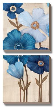 Fleurs Bleues I by Maja