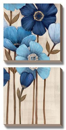 Fleurs Bleues II by Maja