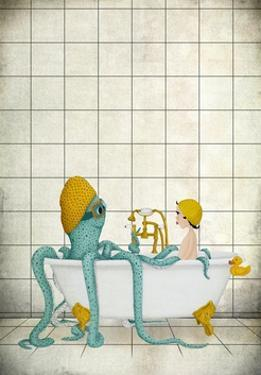 Bath Time by Maja Lindberg
